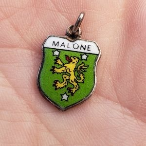 Malone Coat-of-arms/ Irish Family Crest Pendant